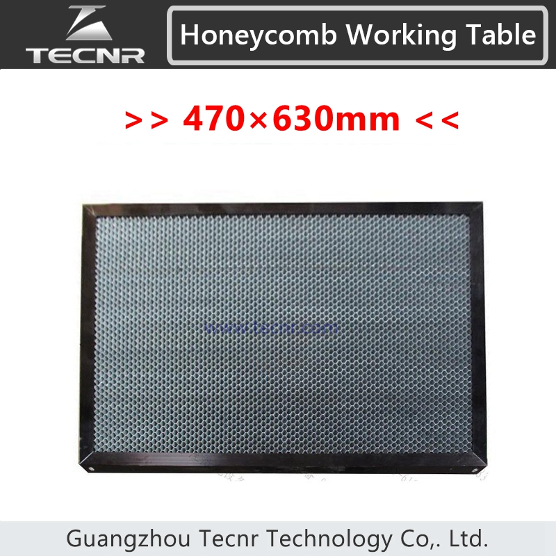 honeycomb working table 470*630MM for CO2 laser cutting machine laser equipment machine parts