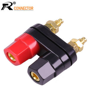 Connector Amplifier Terminals Plug-Jack Banana-Plugs Couple 100pcs Speaker Top-Selling