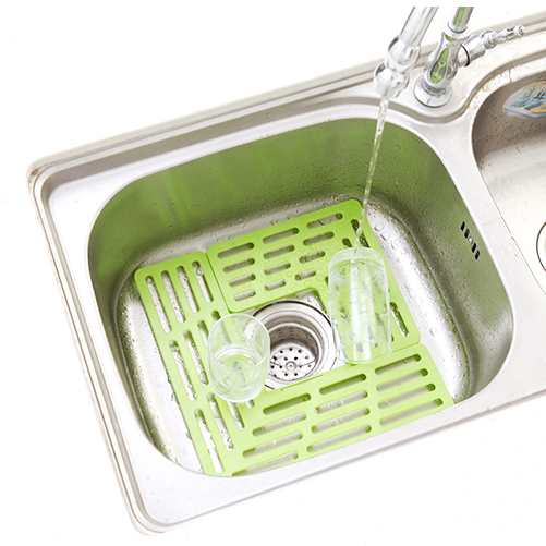 The Sink Drain Protection Board Creative Kitchen Sink Debris Filter Mat  More Environmentally Friendly Draining Board 8802 In Colanders U0026 Strainers  From Home ...