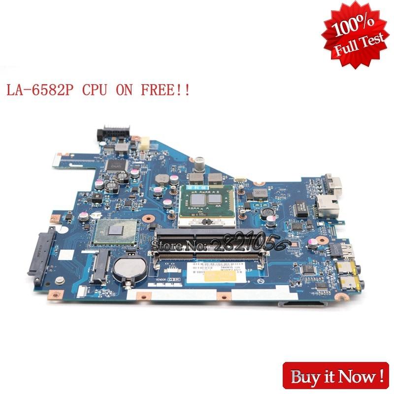 NOKOTION MBR4L02001 MB.R4L02.001 Main Board For Acer aspire 5742 5742ZG Laptop motherboard LA-6582P PEW71 L01 DDR3 CPU ON FREE цена