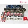 Para a Toyota motor reconstruir kit 1FZ compelete do forro do cilindro de pistão + anel junta kit rolamento