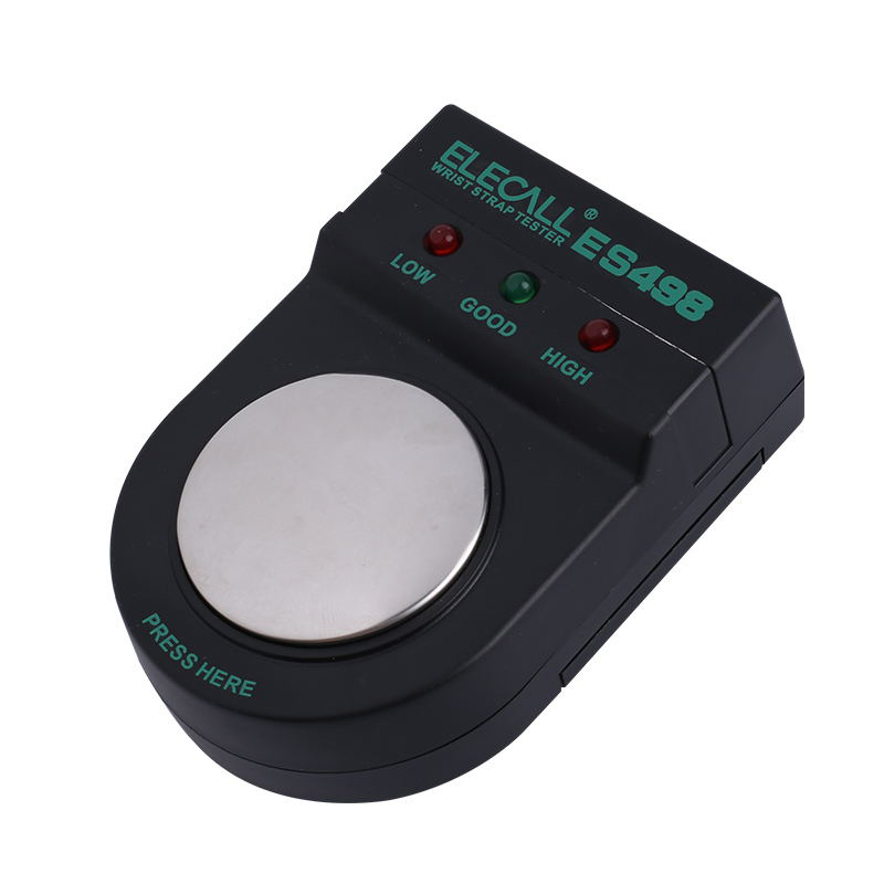 ES498 Electrostatic Strap Tester Anti Static Anti-static Wrist Strap Measurement Wrist Strap Tester