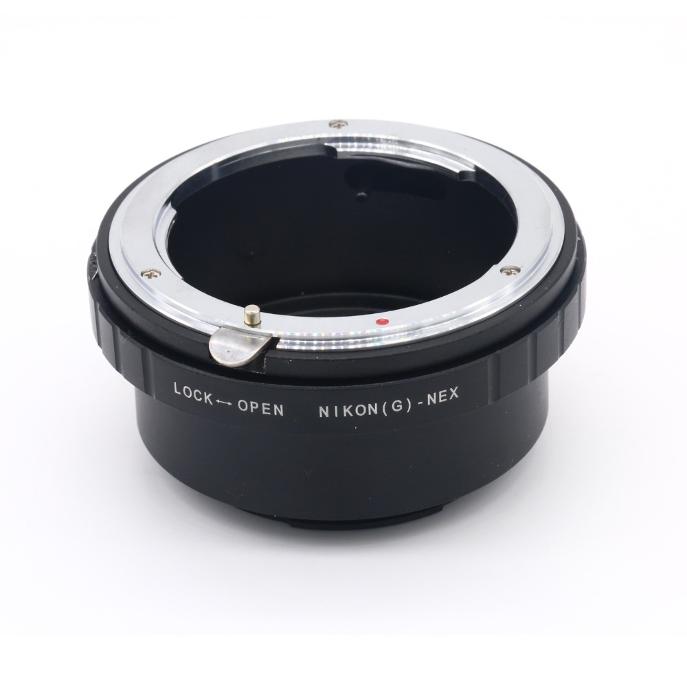 Lens Mount Adapter with Aperture Dial for Nikon G DX F AI S D type Lens for Sony E-Mount NEX Camera Nikon G -NEX Adapter