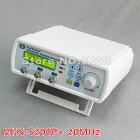 MHS 5200P Digital Dual Channel DDS Signal Generator Arbitrary Waveform Generator Function Signal Generator 20MHz Amplifier