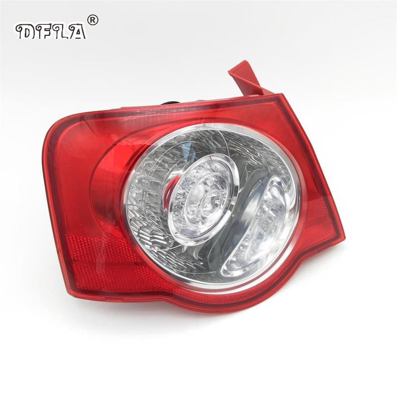 Car Led Light For VW Passat B6 2006 2007 2008 2009 2010 2011 Car-Styling LED Rear Tail Light Lamp Left Side Outer LHD real light for skoda octavia a6 rs 2009 2010 2011 2012 2013 car styling new car rear lights tail light
