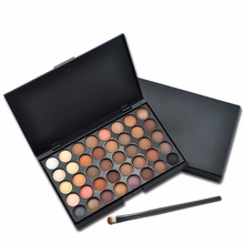Eyeshadow Palette Matte Eye Shadow Pallete Shimmer and Shine Nude Make Up Set Kit Cosmetic