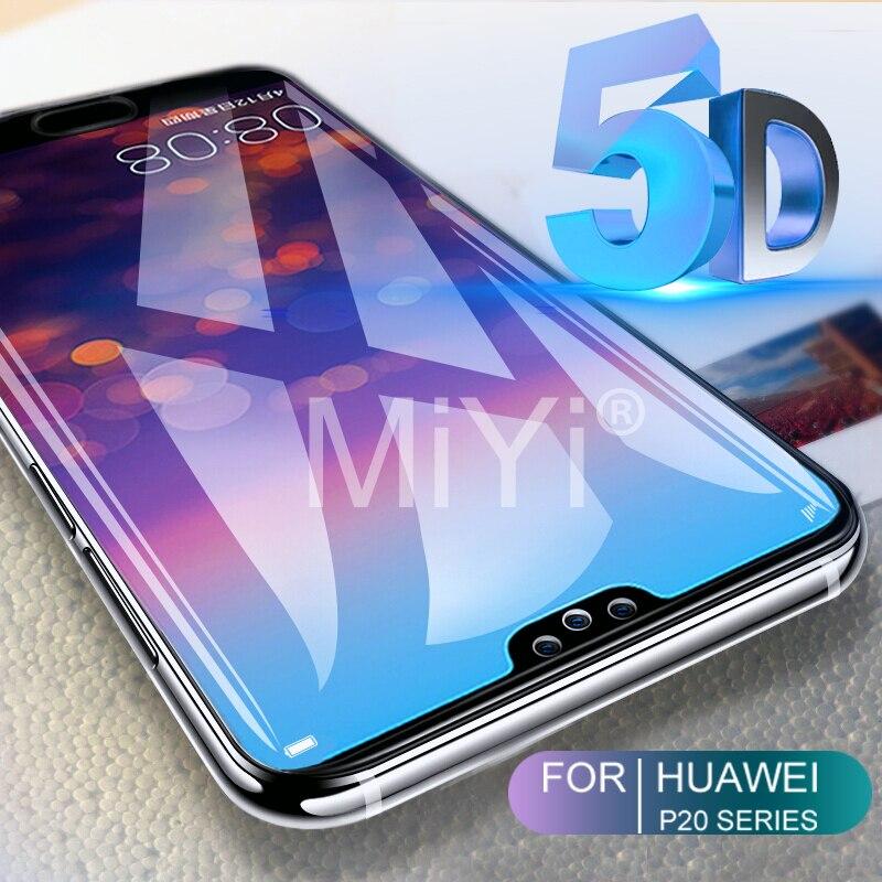 5D verre trempé incurvé pour Huawei P20 Lite léger protecteur d'écran pour Huawei P20 Pro verre Hauwei P 20 Lite Pro P20Pro P20Lite