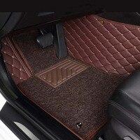 Custom fit car floor mats for Toyota Camry 40 Corolla E160 Land Cruiser Prado 120 Corolla RAV4 CHR 2019car styling carpet