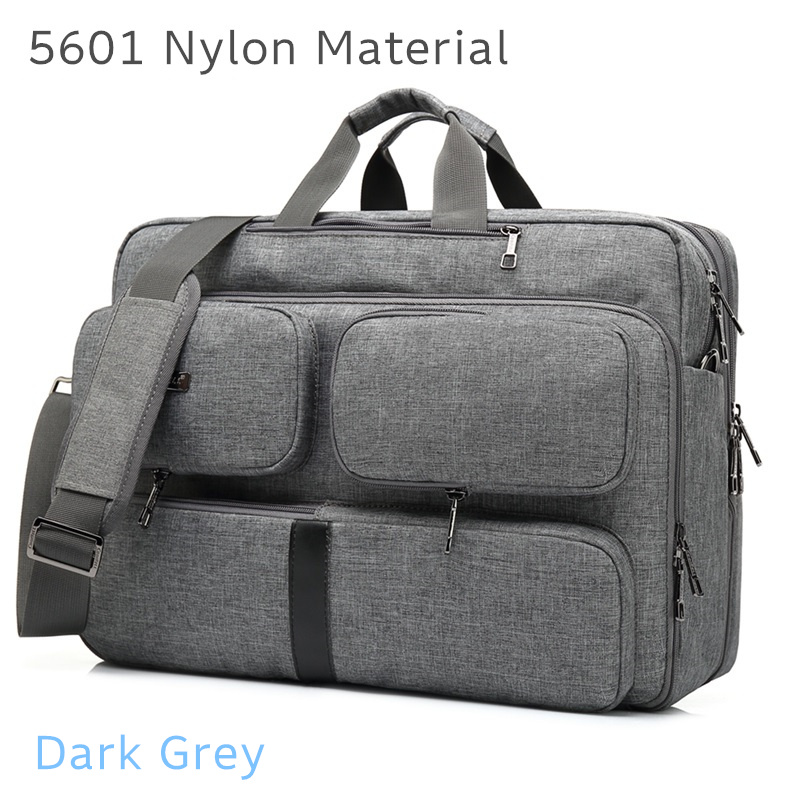 """Image 4 - 2019 Coolbell Brand Messenger Backpack For Laptop 15.6"""",17"""",17.1"""",17.3"""" Notebook Bag, Packsack, Free Drop Shipping 5601-in Laptop Bags & Cases from Computer & Office"""