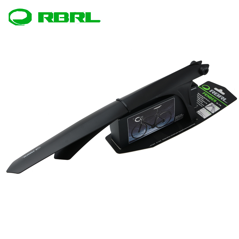 RBRL Road Bike Bicycle Fender Mudguard Front /& Rear Quick Release Black