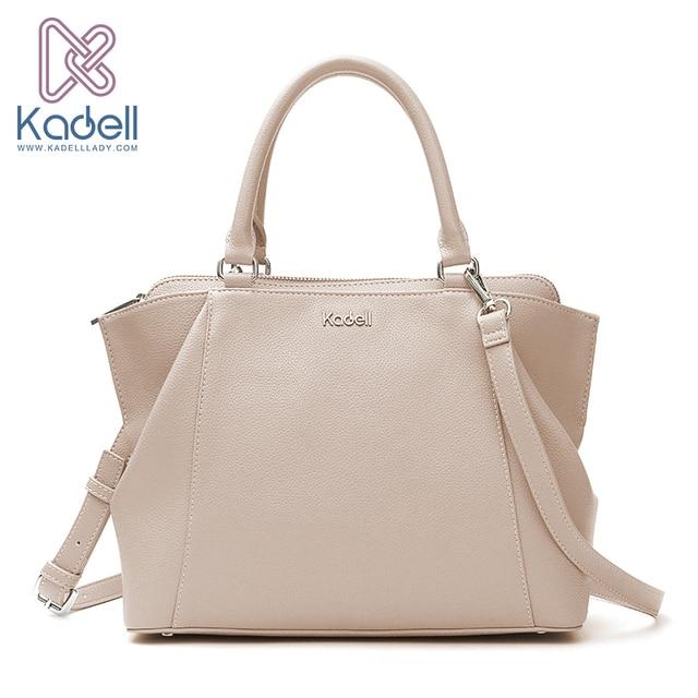 fb9fc933e587 Kadell 2018 New Elegant Lady Business High Range Doctor Bag Designer  Handbags High Quality Tote Bag Leather Shoulder Bag
