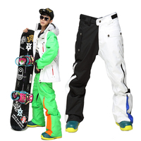 StormRunner Hot sale Winter New Style Male Snow Pants Free Shipping Board Waterproof Warm Waist Guard Men's Ski Pants