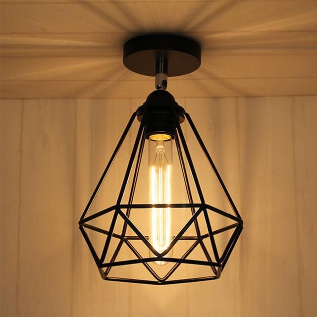 € 18.05 15% de DESCUENTO|Vintage luces de techo moderna lámpara de  habitación pasillo comedor diseño plafondlamp casa iluminación lamparas de  ...