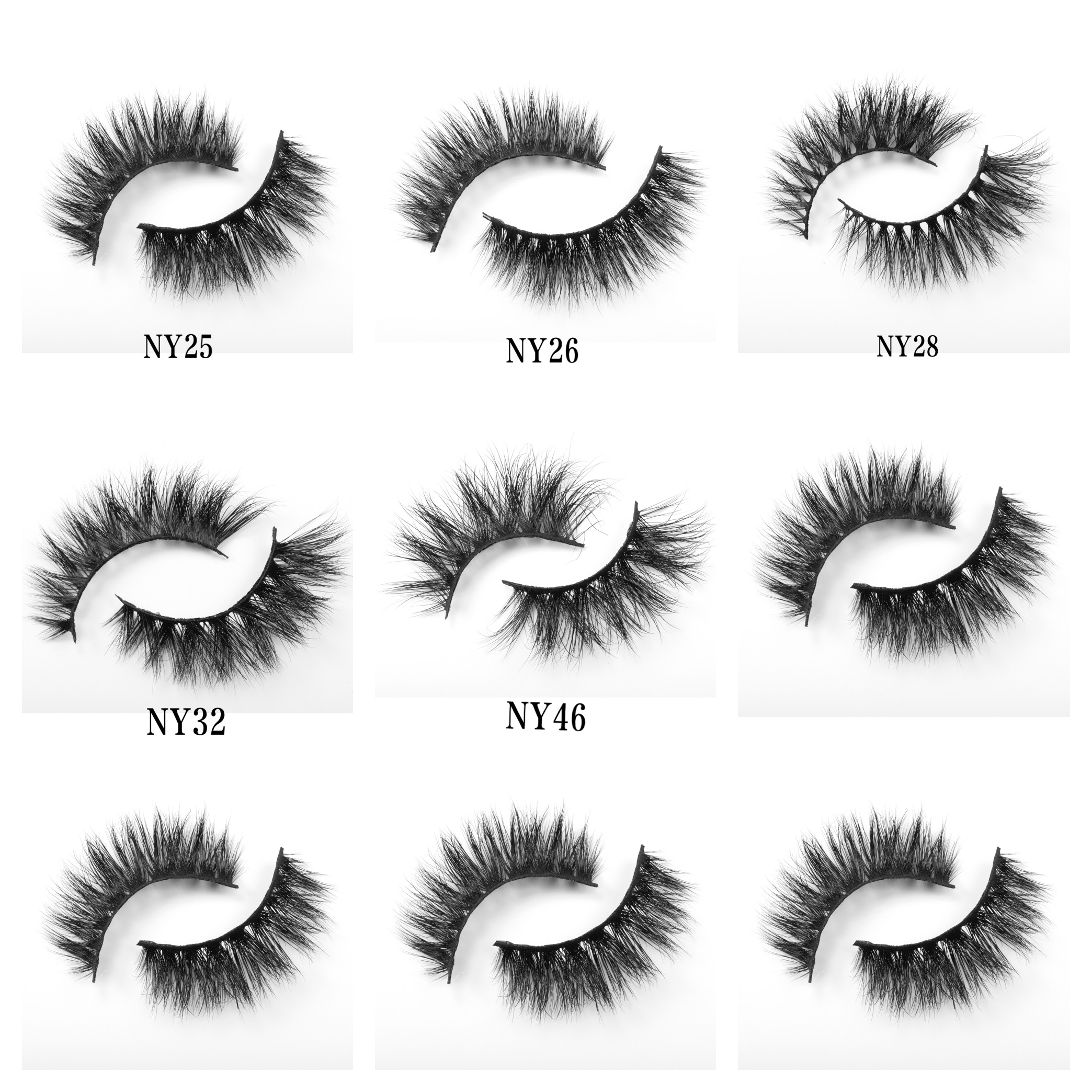 MAYNICE Mink Lashes 3D Mink 100% Cruelty Free Handmade Eyelashes False