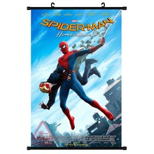 Tom Holland Canvas Painting Movie Spider Man Far From Home Paper Poster Decor Wall Art for Bar Cafe Living Room