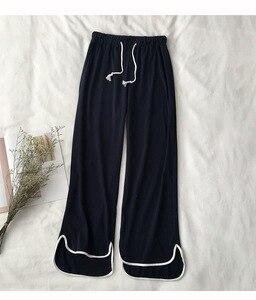 Image 4 - New 100% Cotton Long Sleeved Ladies Pajamas Set Pyjamas for Women Pijama Mujer Cartoon Dog Print Sleepwear Homewear Nightgown