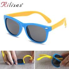 74173be4d RILIXES الاستقطاب النظارات الشمسية الاطفال الفتيان الفتيات الطفل الرضيع  الشمس نظارات 100% UV400 نظارات الطفل ظلال Oculos Infanti.