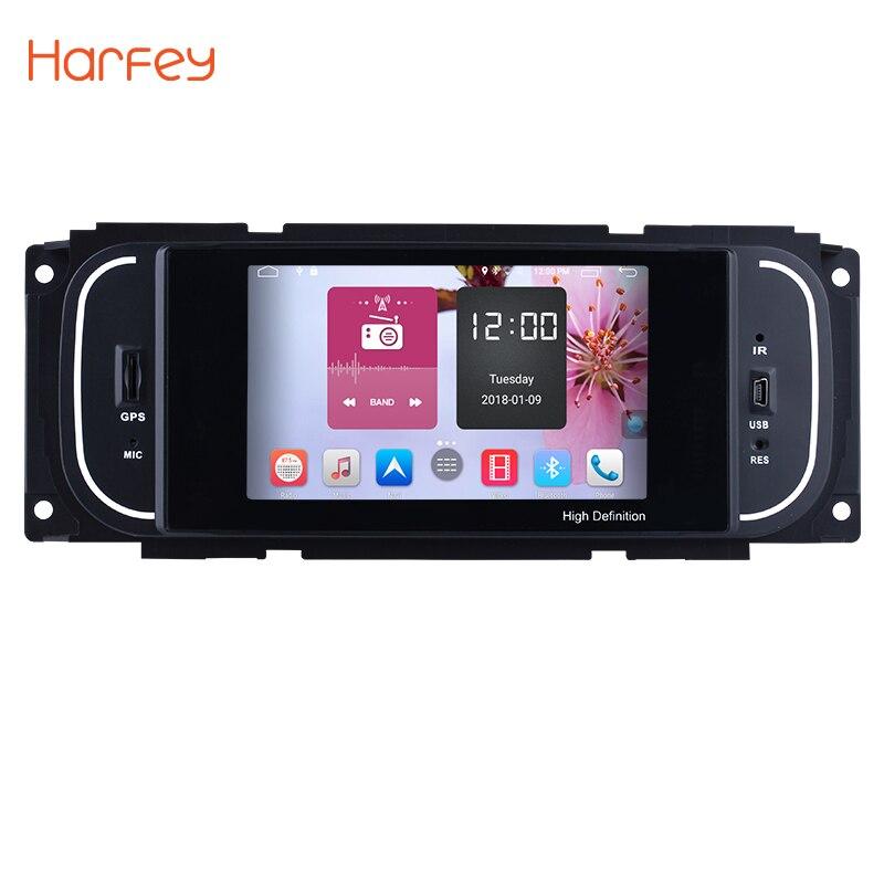 Harfey 5 pollice Android 6.0 HD Touchscrenn Autoradio Unità di Testa Per 2001 2002 2003 2004 2005-2007 Chrysler 300 m PT Cruiser Sebring