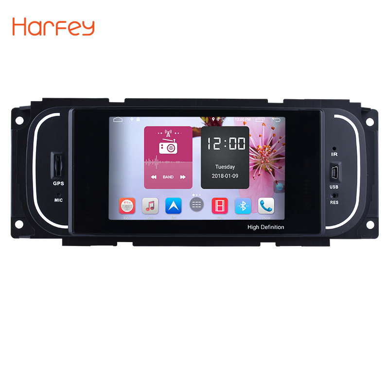 Harfey 5 pouce Android 6.0 HD Touchscrenn Voiture Autoradio radio Pour 2001 2002 2003 2004 2005-2007 Chrysler 300 m PT Cruiser Sebring