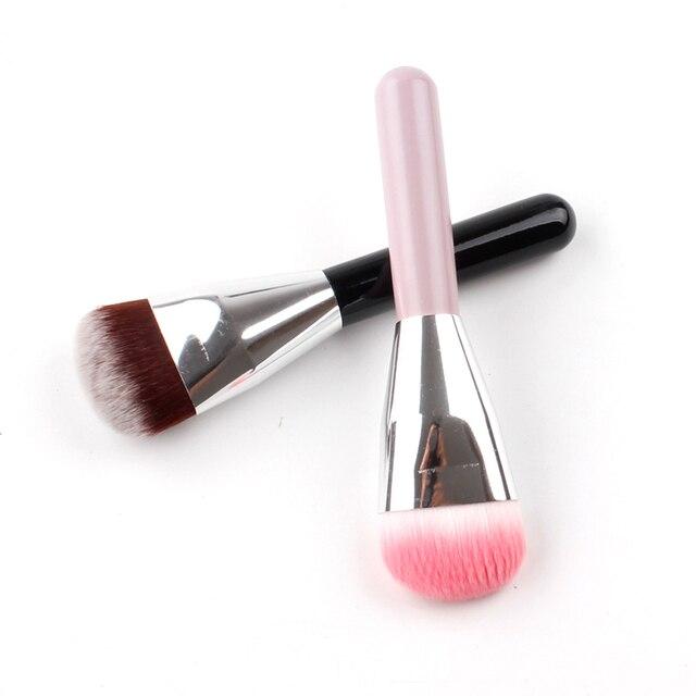 VVHUDA Contorno de maquillaje cepillo piezas mezcla cobertura completa Mineral Buffer Face definición líquido en polvo formulaciones herramienta