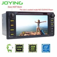 JOYING 2GB 32GB Android5 1 Car GPS Stereo Player Quad Core Double 2din Radio For Universal