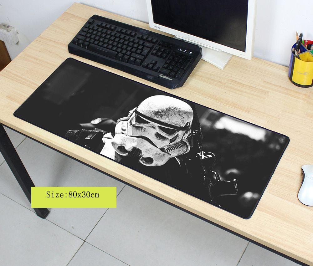 Star wars souris pad 800x300x3mm pad pour la souris notbook ordinateur tapis de souris carte de jeu padmouse gamer à clavier souris tapis
