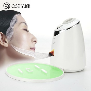 Fruit Vegetable Facial Mask Machine Automatic DIY Natural Vegetable Organic Masks Beauty Facial SPA Skin Care Tool