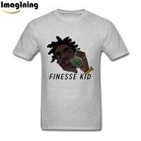 Finesse Kid Kodak Black Cotton O Neck T Shirts Shirts Custom Short Sleeve Mens Online Man