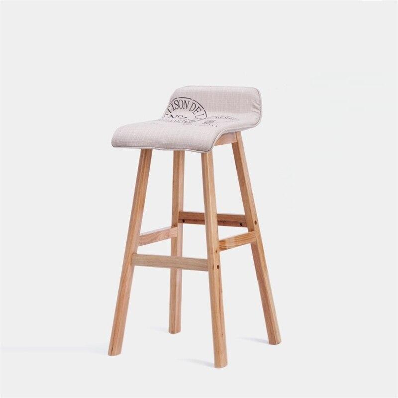 BSDT wood chairs fashion front desk bar stool High chair FREE SHIPPING bar chairs minimalist fashion lift chair bar stool high table