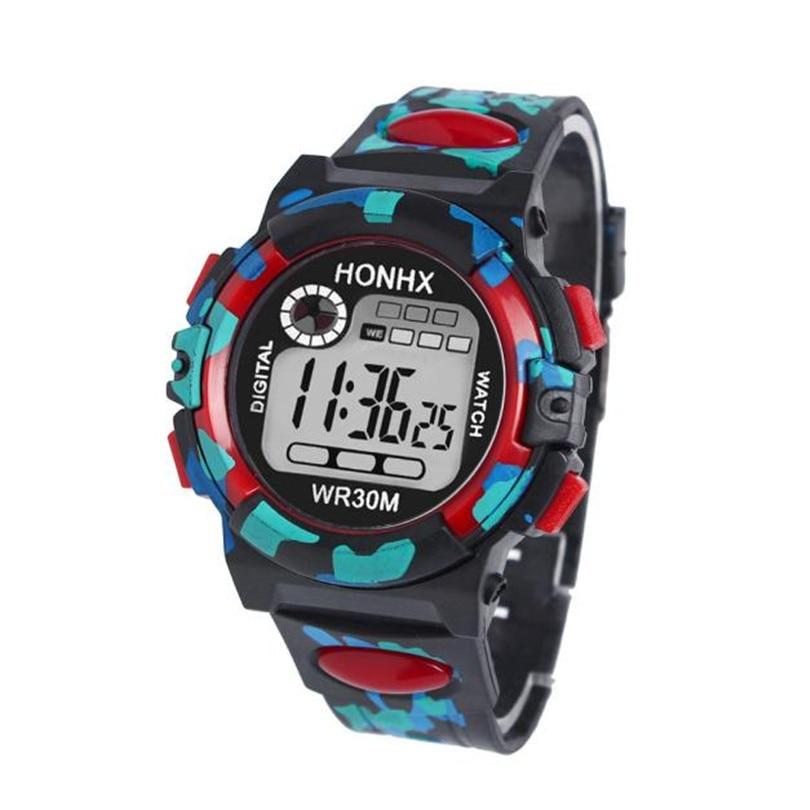 Irissshine Kids relojes Boy Girl Multifunción Deportes Impermeables - Relojes para niños - foto 5