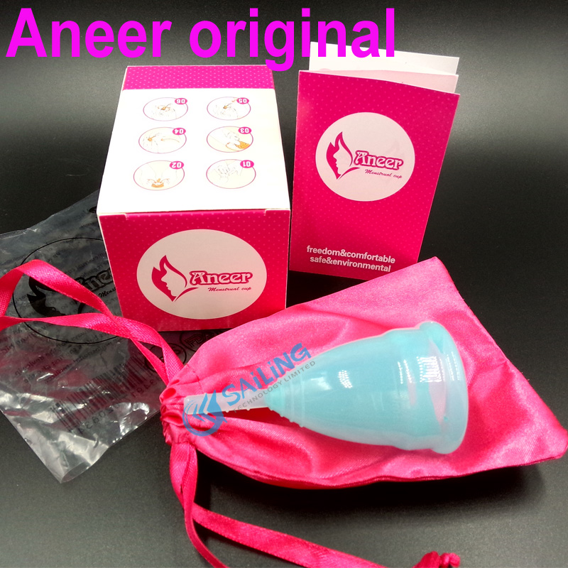 50pcs lot Wholesale menstrual cup feminine medical grade silicone health care cup coupe menstruelle menstrual silicon