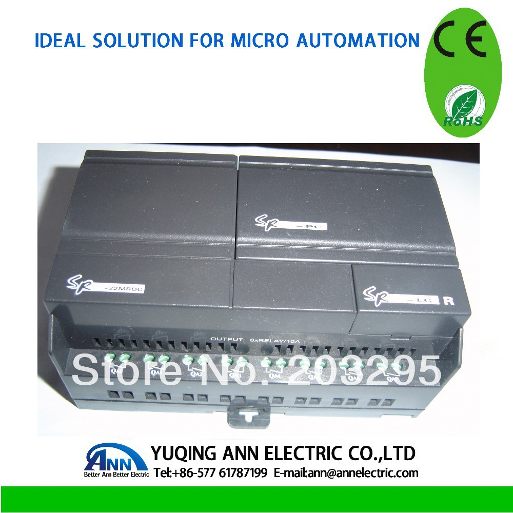 SR-22MRDC avec SR-HMI avec SR-CP la cale est C232 port, Mini PLC, PLC