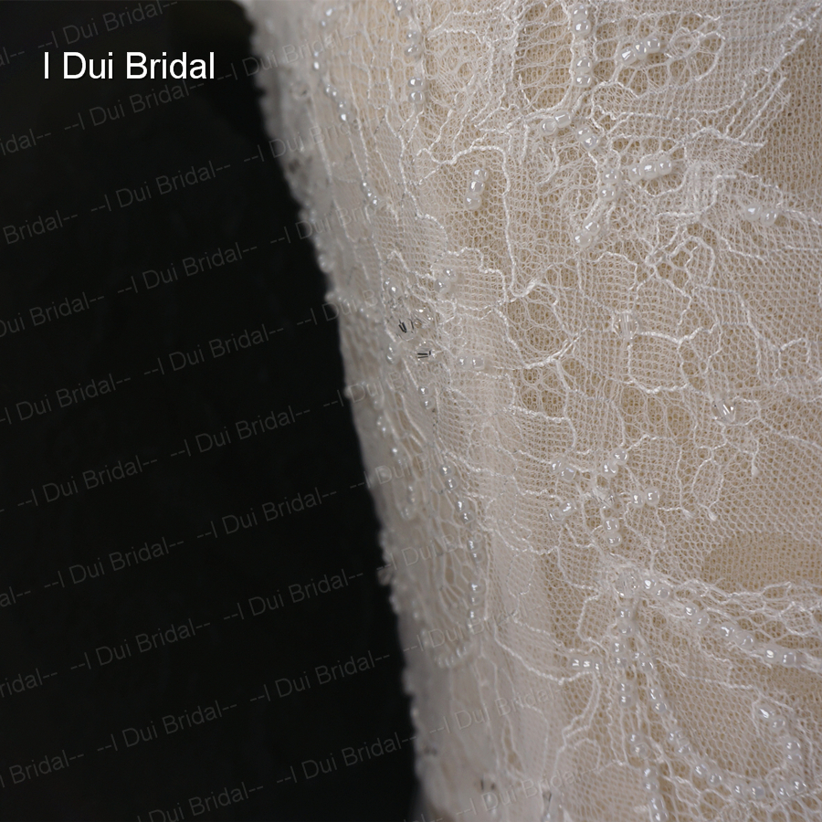 Bridal ثوب الدانتيل البوهيمي 4