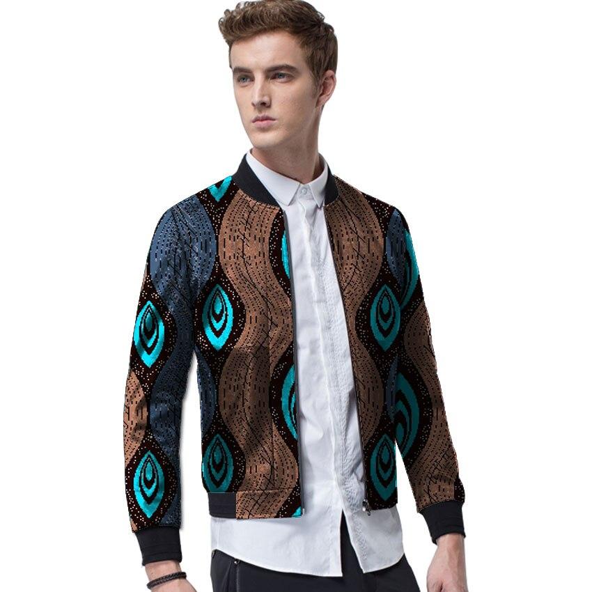 Mode 4 Motif 5 Personnalisés Dashiki Vestes Casual Afrique 3 Africain 2 6 Hommes Vêtements Baseball 1 Homme Style Imprimer Manteaux TTw1Uxqr