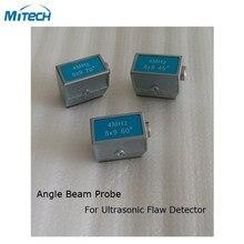 Transductor de sonda de ángulo de 4MHz 8x9 45 + 60 + 70 grados (3 piezas)
