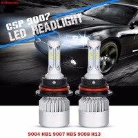 S3 9004 HB1 9007 HB5 9008 H13 Hi Lo Beam Car LED Headlight Bulb DRL Driving