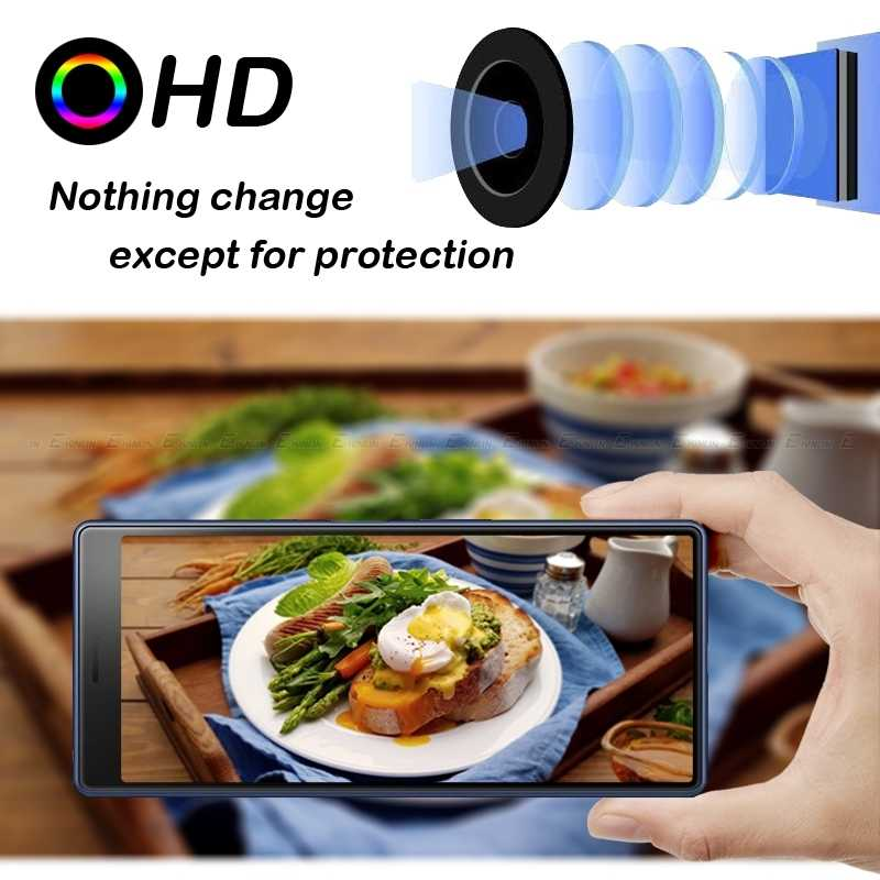 Kembali Kamera Lensa Pelindung Tempered Glass Pelindung Film untuk Sony Xperia XA2 1 5 10 Plus Ultra XZ3 XZ2 Premium kompak L2 L1