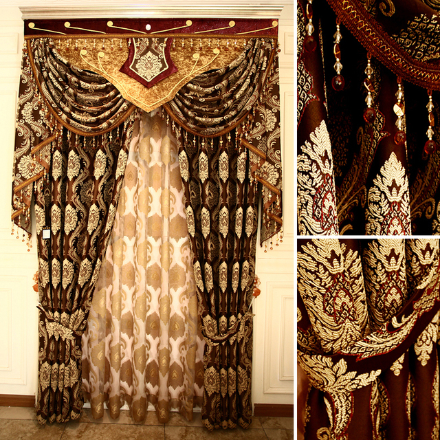Curtains Ideas butterfly valance curtains : Aliexpress.com : Buy high quality living room curtain luxury ...