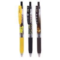 3pcs/set Zebra Pikachu SARASA JJ15 Limited Edition Cartoon Color Press Gel Pen 0.5mm for student writing Neutral Pen