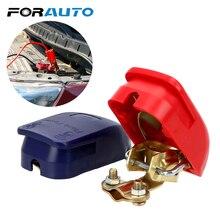 FORAUTO пара клеммы автомобильного аккумулятора зажимы соединителя быстросъемный подъем от положительного и отрицательного электрода автомобильные аксессуары