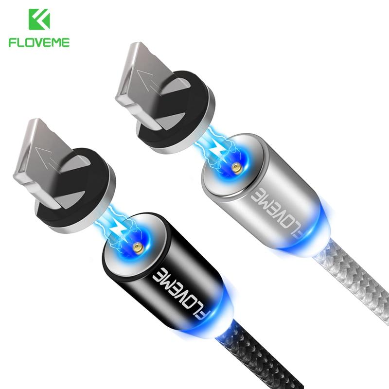 Floveme 1 м Магнитный кабель USB для IPhone х Micro USB кабель Магнитная Зарядное устройство для Samsung Мобильный телефон Xiaomi магнит microUSB Cabo провод зарядка ... ...