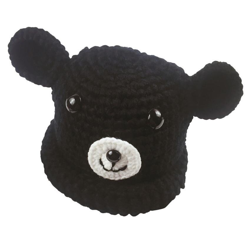 Cute Baby Beanie Hat popular Kids Girl Boy Cartoon Dog Ear Warm Winter Knitted Cap Chapeu Vintage #9921