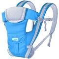 Anillo De Algodón Canguro Bebé Carry Frente del Portador de bebé Infantil Mochila Sling Wrap Hip Asiento Nuevo 2015-MKD014 PT15