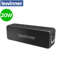 Lewinner X5pro Altavoz Bluetooth inalámbrico portátil Subwoofer 24 horas Playtime 20W Bluetooth V5.0 altavoz IPX7 impermeable(China)