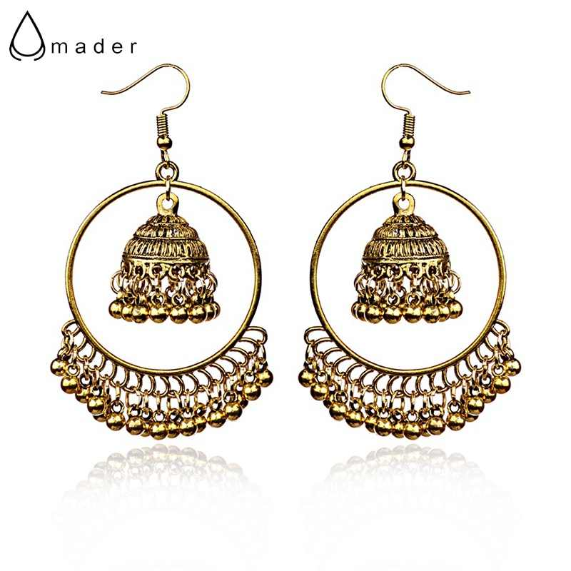 Amader Round Turkish Vintage Jhumka Earrings Women S Silver Gold