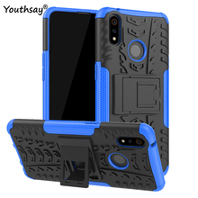 For Realme 3 Pro Case Heavy Duty Hard Rubber Silicone Phone Cover OPPO for