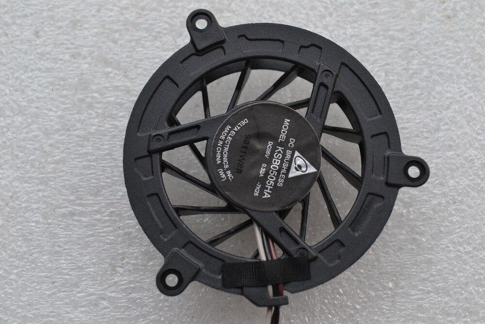 New CPU Cooling fan for TOSHIBA M300 M301 M302 M305 M306 M307 M308 4411S 4410S 4415S 4416S KSB0505HA DC05V 0.32A thumbnail
