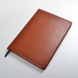 Image 4 - Bloc notes A4, papier doublé, 100 feuilles, 200pages, agenda, agenda, organisateur, journal, papeterie, fournitures de bureau