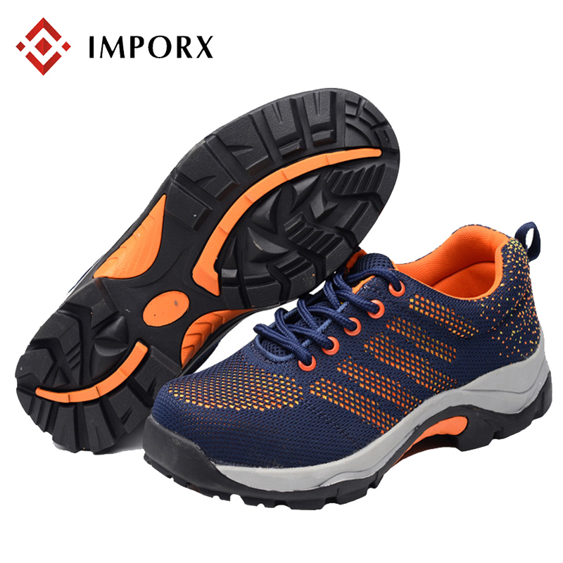 Summer Men Safety Work Shoes Mesh Breathable Steel Toe Casual Breathable Boots Anti-puncture Labor Insurance Mens Safety Shoes summer breathable mesh work safety shoes steel toe caps work safety puncture proof boots for men outdoor casual working shoes