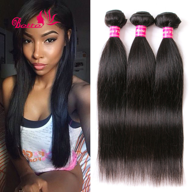 Brazilian Virgin Hair Straight Human Hair Extensions 3 Bundles Brazilian Hair Weave Brazilian Straight Hair Tissage Bresilienne